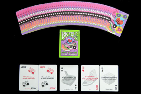 80's Party Starters Bicycle Deck