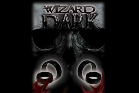 Wizard Dark Pk Ring + DVD - Curved Band (25mm)