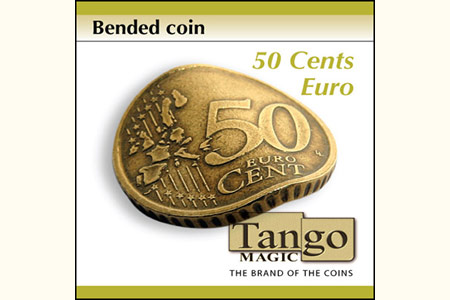 Bended Coin 50 cents Euro
