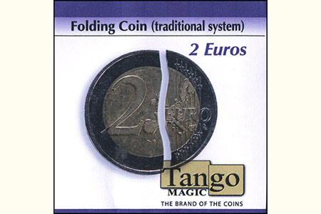 Folding Coin - 2 Euros (Traditional)