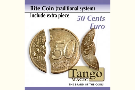 Bite out coin - 50 cts € - Traditional system