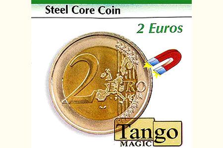 Steel Core coin 2 euros