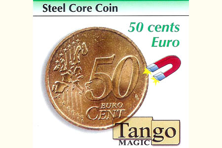 Steel Core coin 50 cts euro