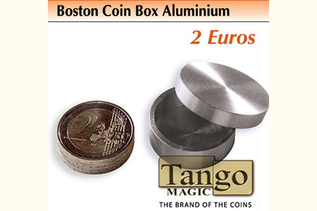 Boston Coin Box 2 euros Aluminum