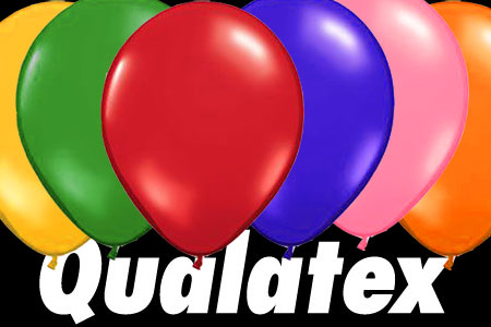 Ballons Qualatex Ronds (taille 9)