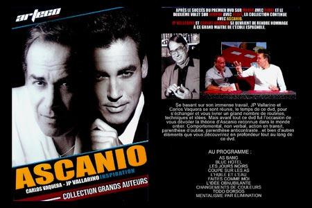 Ascanio Inspiration by JP Vallarino & Carlos Vaquera ( 2 DVD SET )
