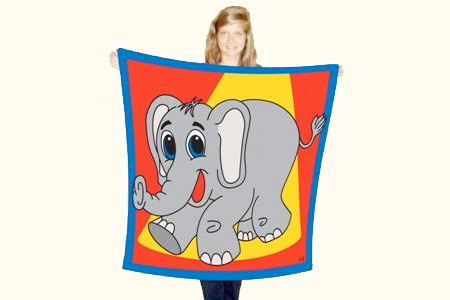 ELEPHANT PRODUCTION SILK 45
