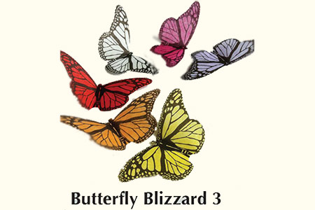 Butterfly blizzard : Recharges