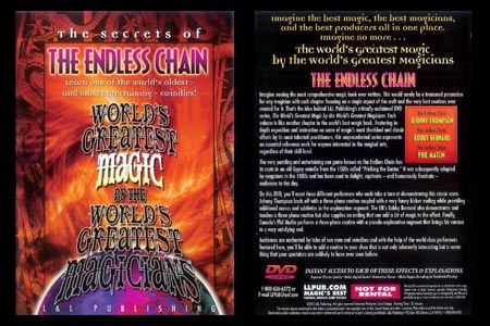 DVD The Secrets of The endless Chain