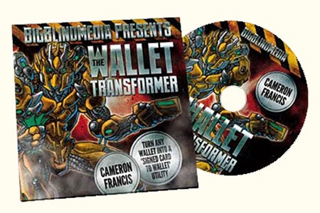 The Wallet Transformer (DVD + Gimmick)