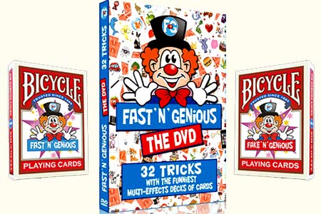 Fast and fake'n'genious + DVD's pack
