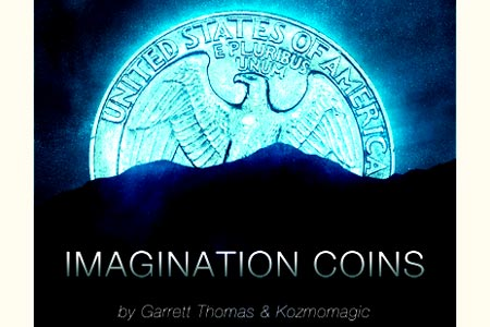 Imagination Coins (DVD + Gimmick US)