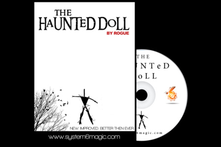 Muñeco Voodoo Haunted Doll (DVD + Gimmick)