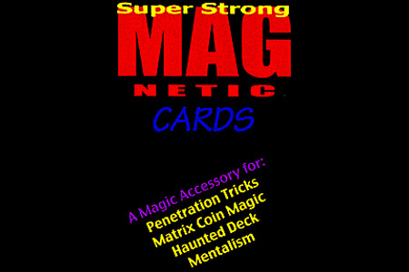 Magnetic Cards (1red/1blue)
