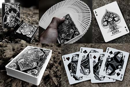 Bicycle Asura Deck (Black)