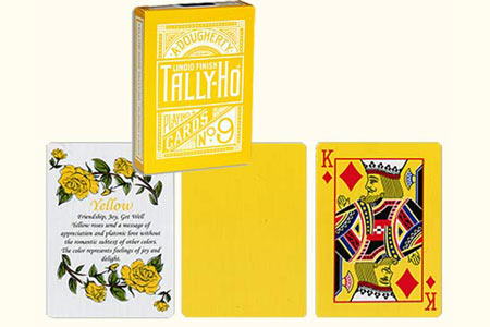 Jeu TALLY-HO Fan Reverse Jaune