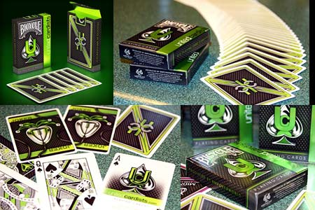 Jeu Bicycle United Cardists