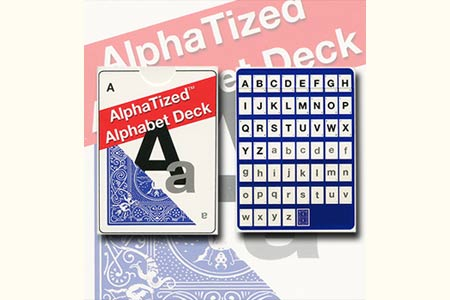 Alphabet Marked Deck