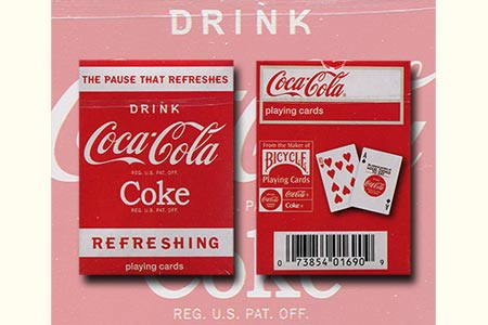 Coca-Cola Refreshing Mini Bicycle Deck