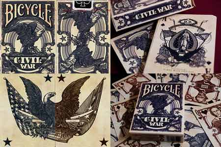 Jeu Bicycle The Civil War