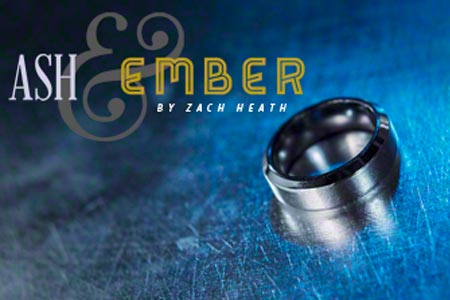 Anillo Ash and Ember Biselado Plata (18,19 mm)