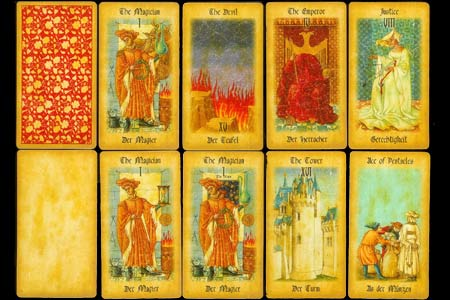 The Medieval Tarot Extension Set