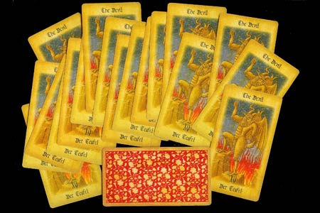 The Medieval Tarot - Force Set - Devil