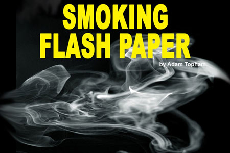 Smoking Flash Paper