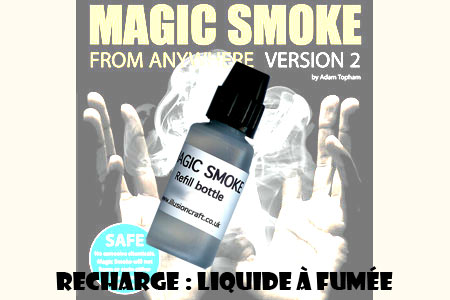 Magic smoke : Refill bottle