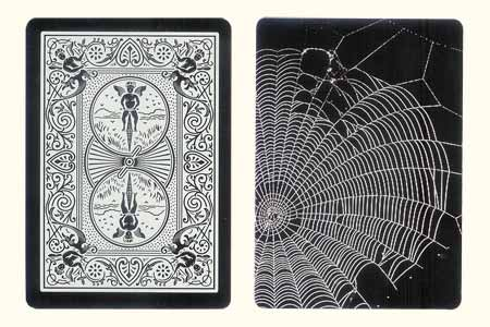 Spider web BICYCLE Card