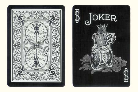 BICYCLE Tiger Joker Card with back