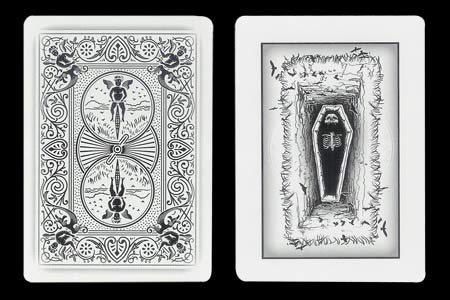 Coffin BICYCLE Ghost Card
