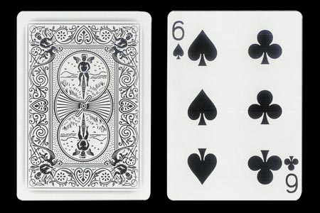 Carte Ghost double index 6 noir