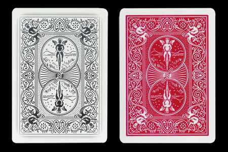 Double Back BICYCLE Card Bicycle-Ghost