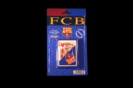 Jeu de cartes Football Club Barcelone
