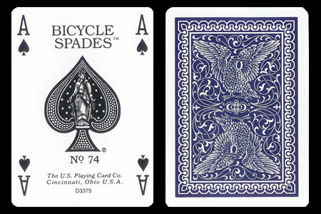 Baraja BICYCLE Spades