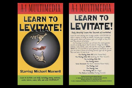 DVD Learn To Levitate