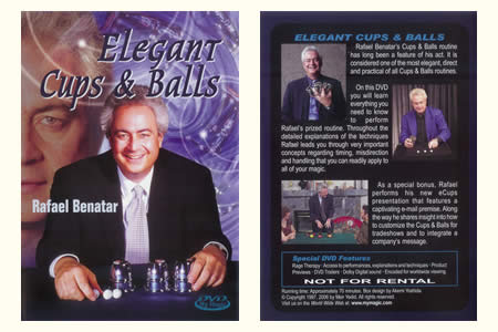 DVD Elegant Cups and Balls