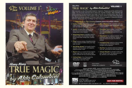 DVD True Magic (Vol.1)