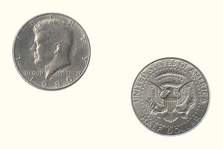Half Dollar Coin (Unit)