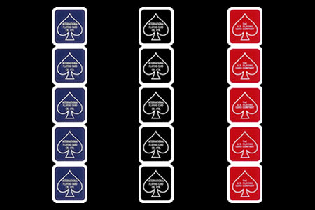 Bicycle Deck Stickers (5 units)