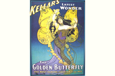Poster The golden butterfly