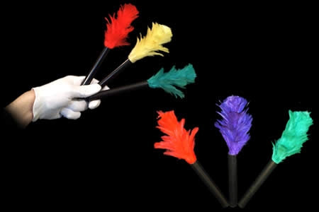 Mini Magic Feather Duster