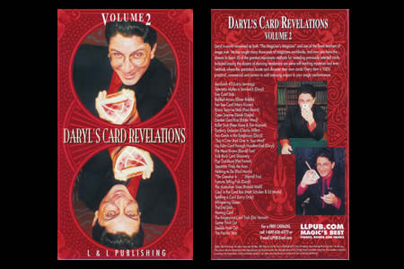 Dvd Daryl's Card Revelations Vol.2