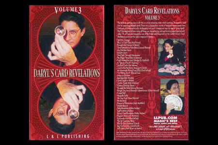 Dvd Daryl's Card Revelations Vol.3
