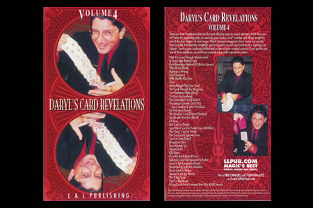 DVD Daryl's Card Revelations (Vol.4)