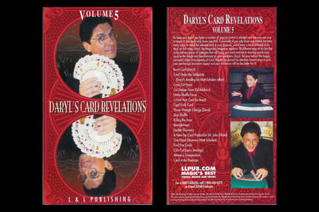 Dvd Daryl's Card Revelations Vol.5