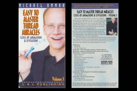 DVD Easy to Master Thread Miracles (Vol.3)