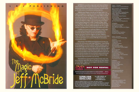 DVD The magic of Jeff McBride