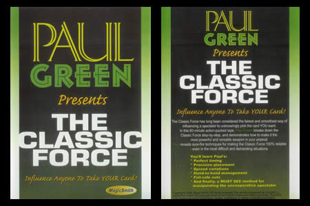 DVD The Classic Force (Paul Green)